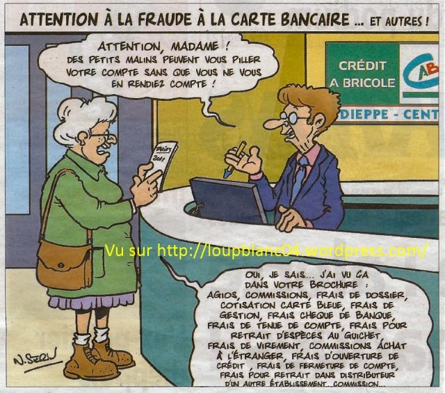 Attention à la fraude à la CB_LB