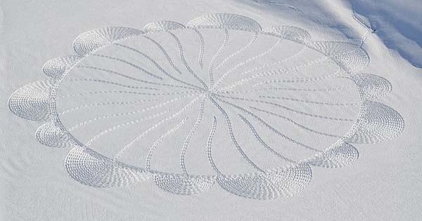 09-Dessin  sur neige