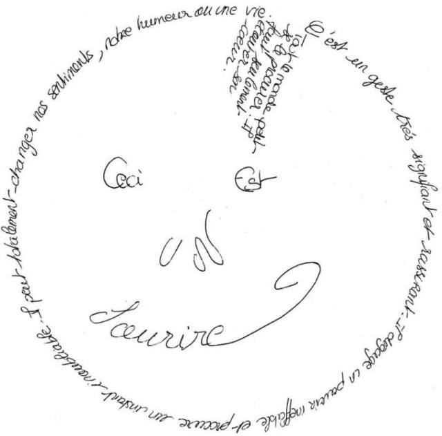 Le don du sourire :)