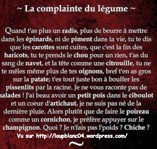0000 La Complainte des Légumes