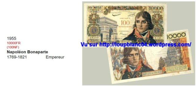 20 1955 10000FR soit 100NF
