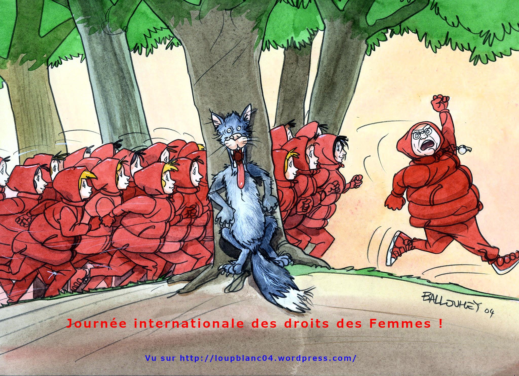 Journée internationale des droits de la Femme du LB04